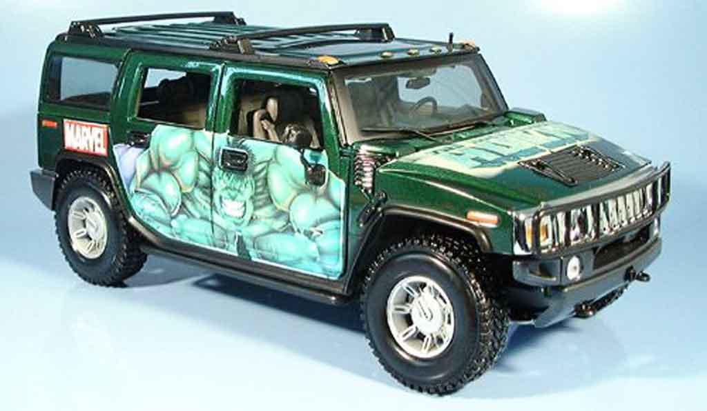 Hummer H2 1/18 Maisto suv hulk miniature