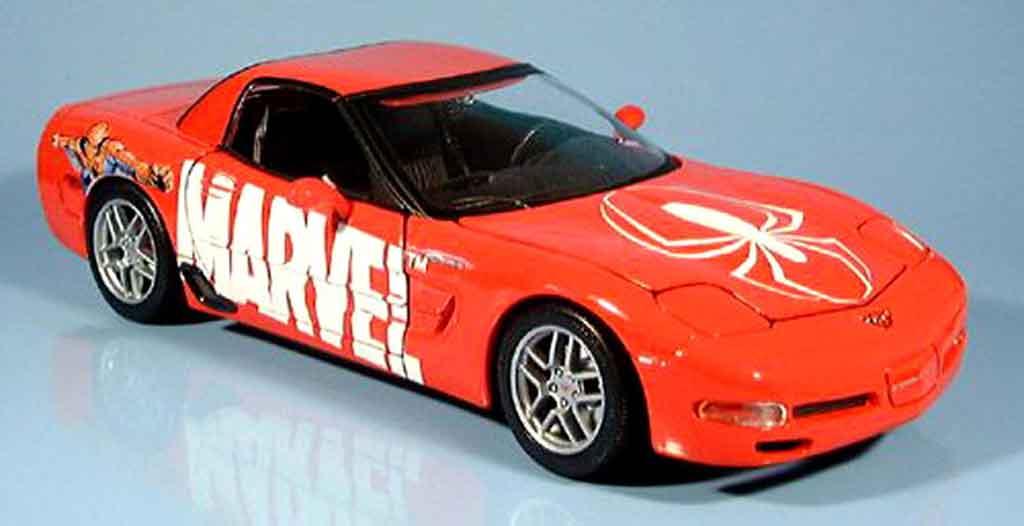 Chevrolet Corvette C5 Z06 1/18 Maisto marvel diecast model cars