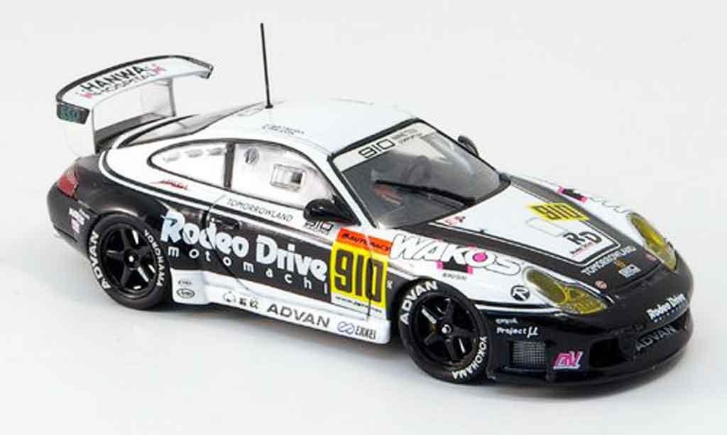 Porsche 996 GT3 Cup 1/43 Ebbro No.910 Rodeo Drive Advan JGTC 2002 miniature