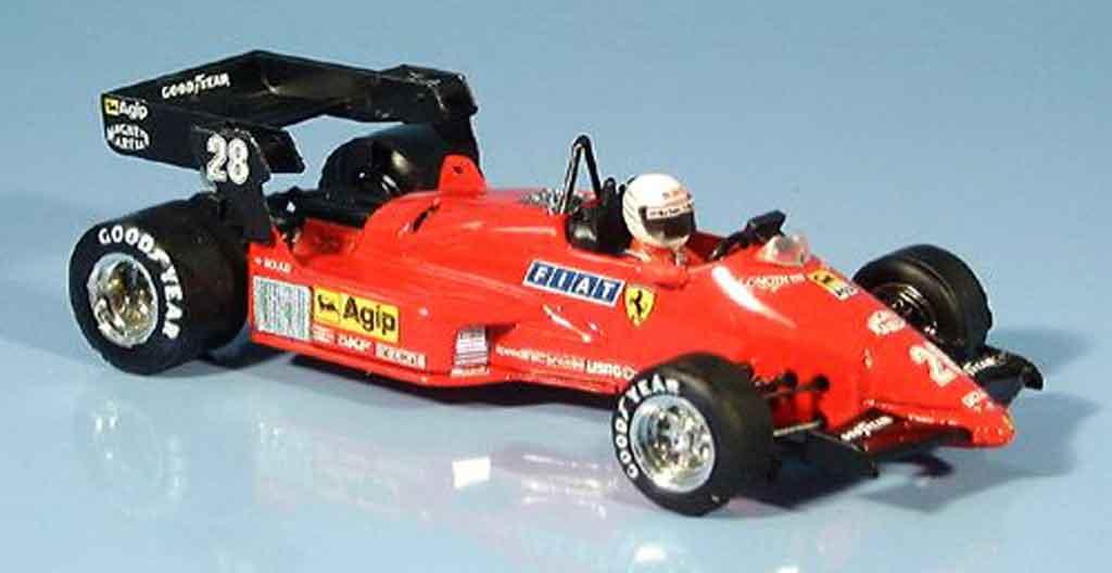 Ferrari 126 1984 1/43 Brumm C4 rene arnoux miniature