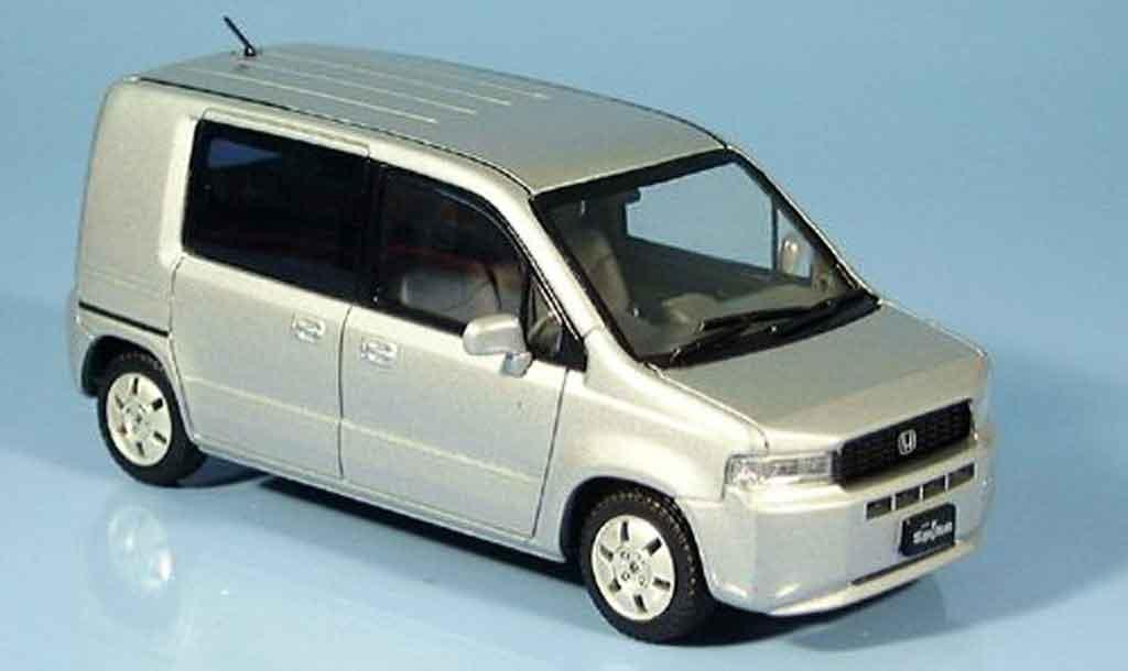 Honda Mobilo Spike 1/43 Ebbro grise metallisee 2002 miniature