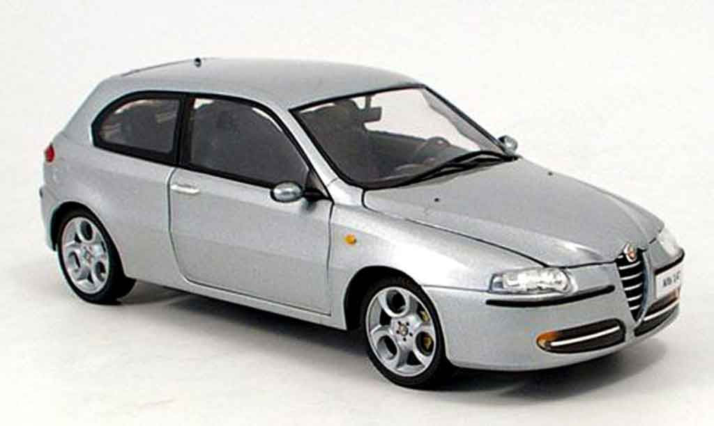 Alfa Romeo 147 1/18 Ricko grey 2003 diecast model cars