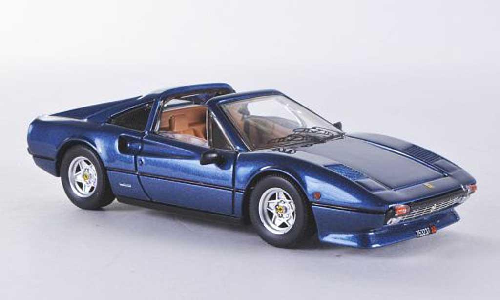Ferrari 308 GTS 1/43 Best met. bleu Dach liegt bei miniatura