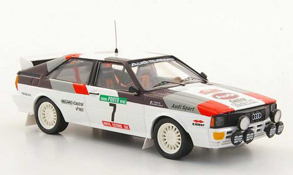 Audi Quattro 1/43 Trofeu No.7 M.Mouton / F.Pons Rally Portugal 1982 miniature