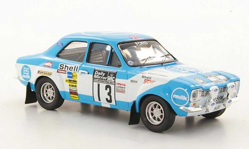 Ford Escort RS 1600 1/43 Trofeu No.13 T.Makinen / H.Liddon RAC Rally 1973 diecast model cars
