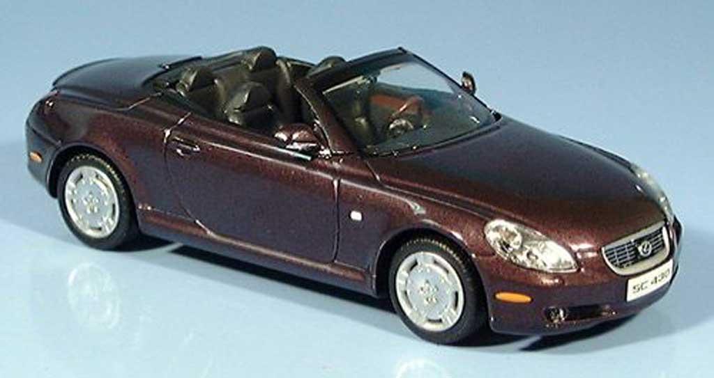 Lexus SC 430 1/43 Minichamps 430 lila 2001 miniature