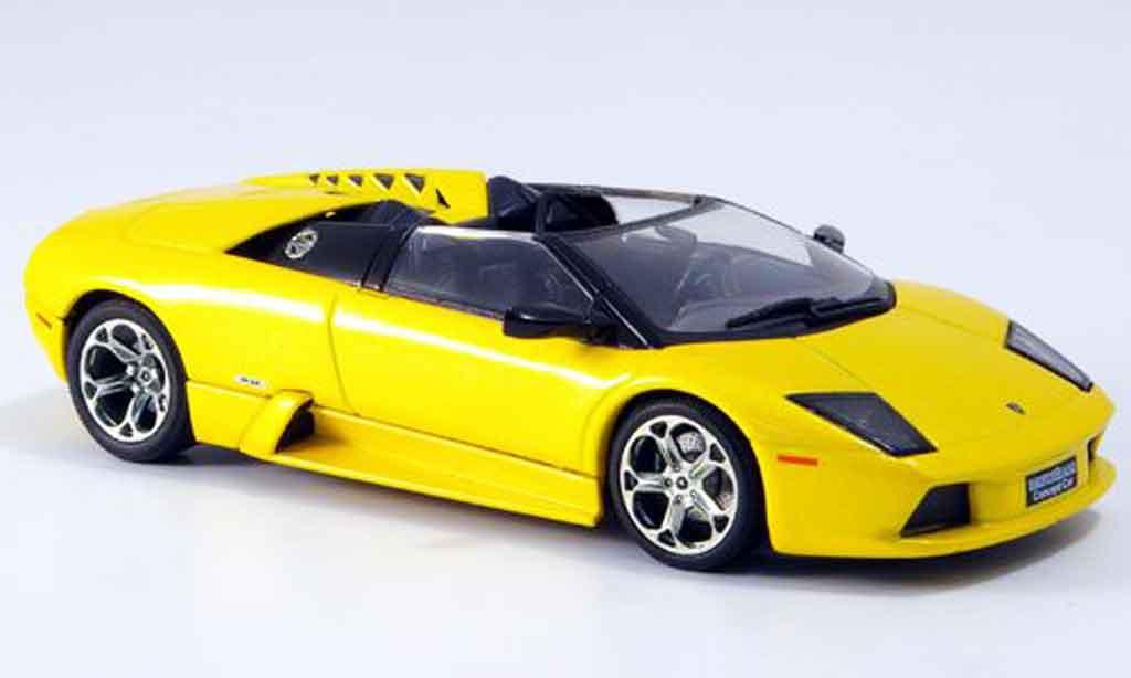 Lamborghini Murcielago 1/43 Autoart concept yellow 2003 diecast model cars
