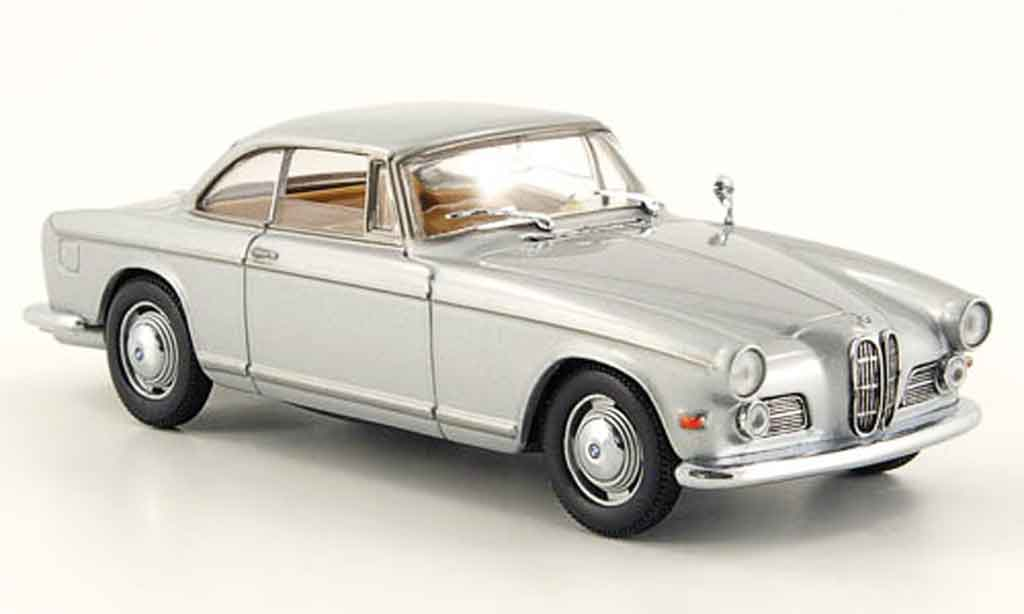 Bmw 503 1/43 Eagle Coupe gris metallisee miniatura