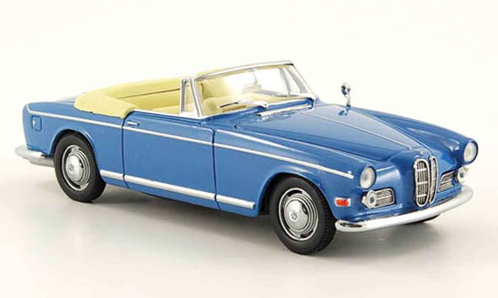 Bmw 503 1/43 Eagle Cabriolet bleu diecast