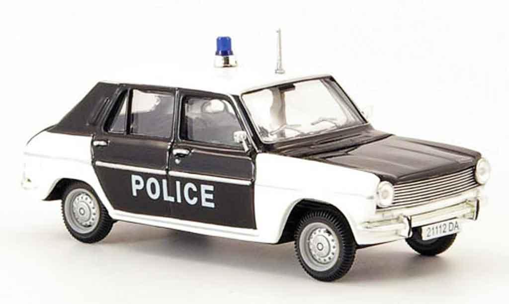 Simca 1100 1/43 Norev gls polizei 1973