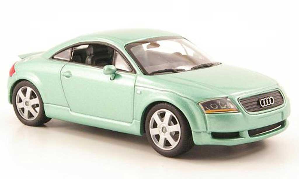 Audi TT 1/43 Minichamps grun 2000 diecast model cars