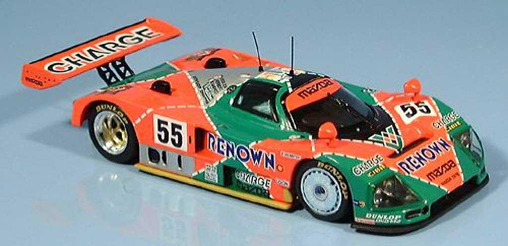 Mazda 787B 1/43 IXO Weidler-Herbert-Gachot Sieger Le Mans 1991 miniature