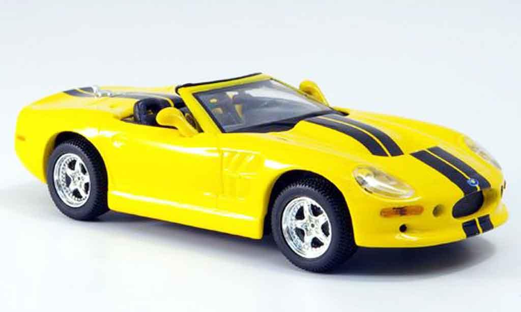 Shelby Series 1 1/43 Maxi Car jaune