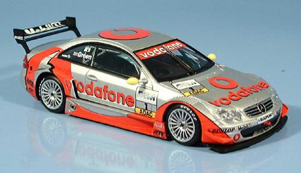 Mercedes Classe CL DTM 1/43 Minichamps K DTM DTM No.1 Team H.W.A. J. Green Testtage Silverstone 2002 miniature