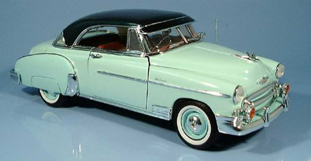 Chevrolet Bel Air 1950 1/18 Motormax verte miniature