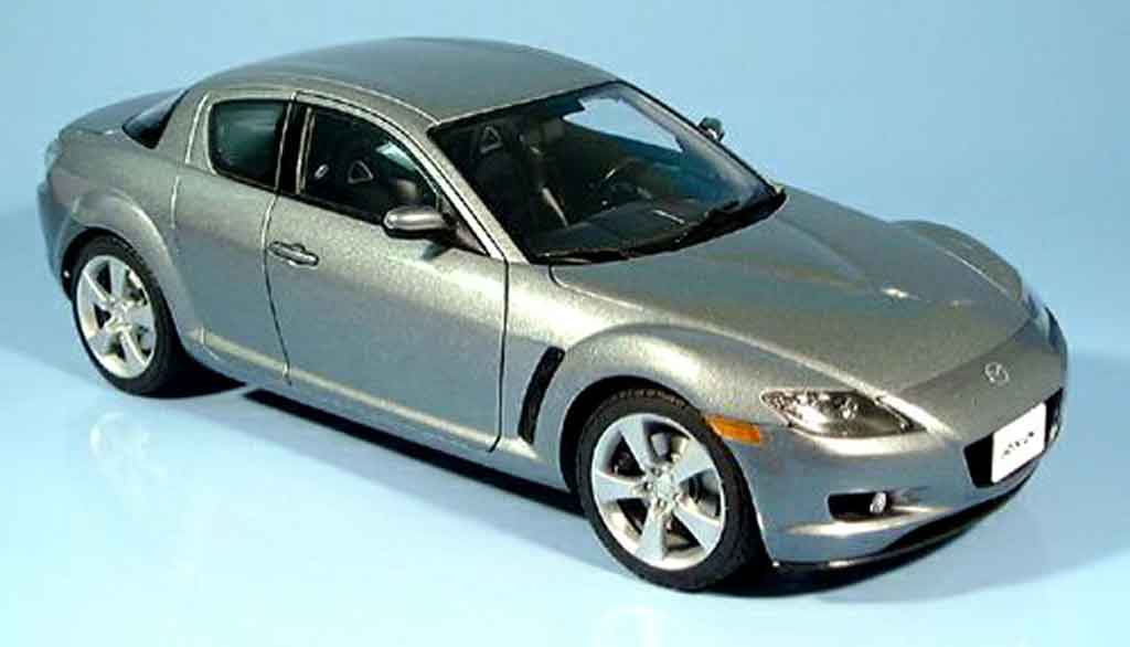 Mazda RX8 1/18 Autoart gray 2003 diecast