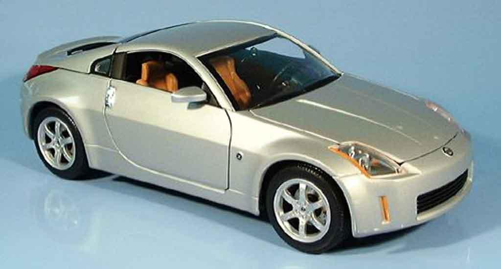 Nissan 350Z 1/18 Yat Ming coupe grau 2003 modellautos