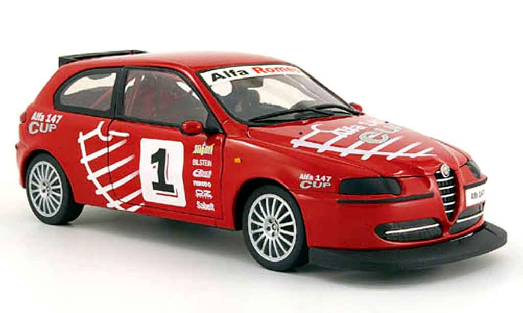 Alfa Romeo 147 1/18 Ricko no.1 alfa cup version diecast model cars
