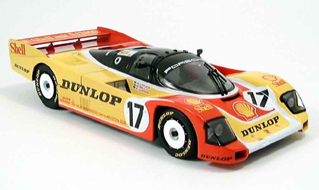 Porsche 962 1988 1/18 Eagle c bell-stuck lemans diecast