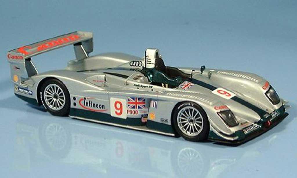Audi R8 LMS 1/43 Minichamps No.9 Team Sport UK M.Salo / J.Kane / P.McCarthy 12h Sebring 2003 miniature