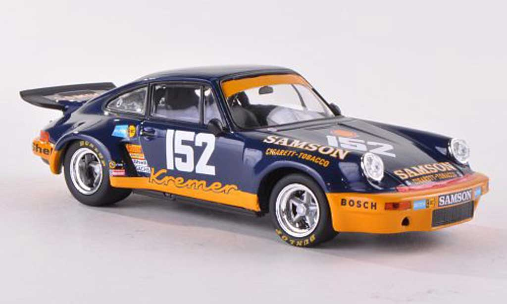 Porsche 930 RSR 1/43 Minichamps Carrera 3.0 No.152 Samson 1000 Km Imola  1974 Heyer/Keller miniature