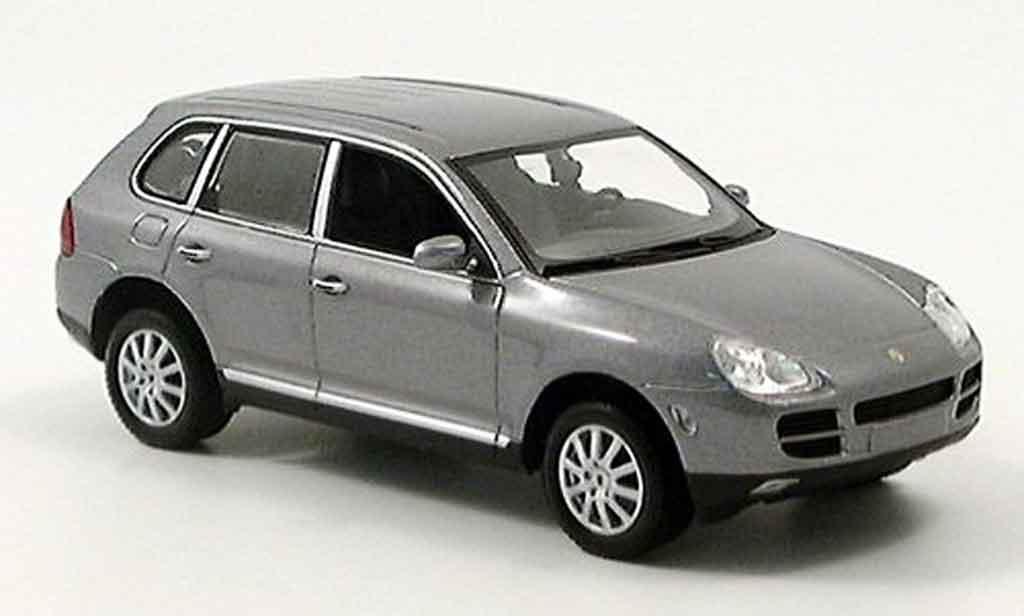 Porsche Cayenne 1/43 Minichamps V6 grau 2003 modellautos