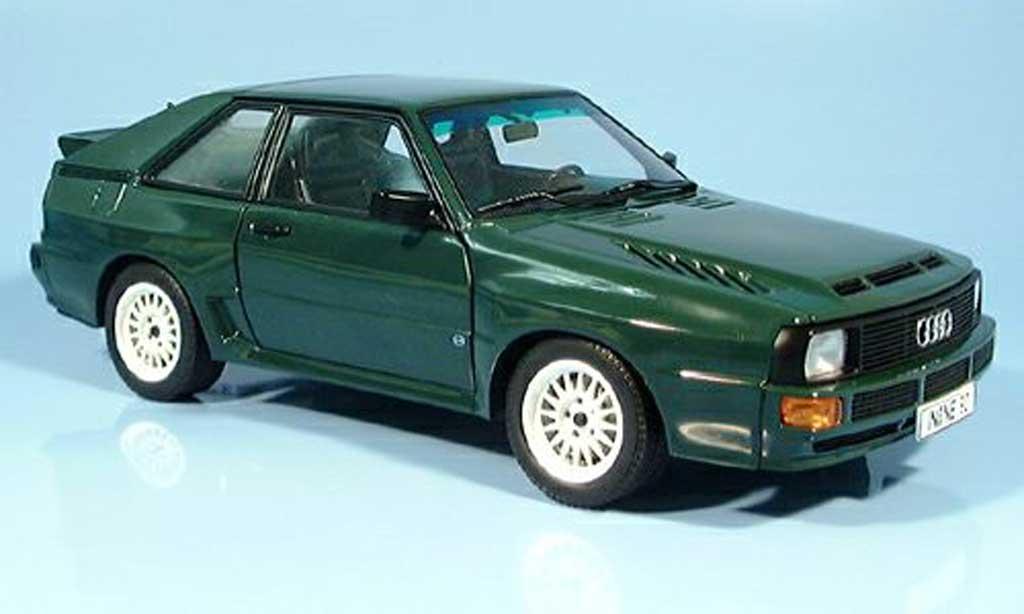 Audi Sport Quattro 1/18 Autoart swb verte 1984 miniature