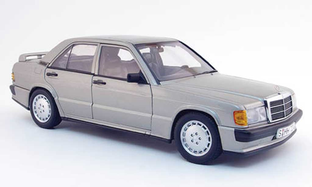 Mercedes 190 E 1/18 Autoart 2.3-16v grey 1983 diecast model cars