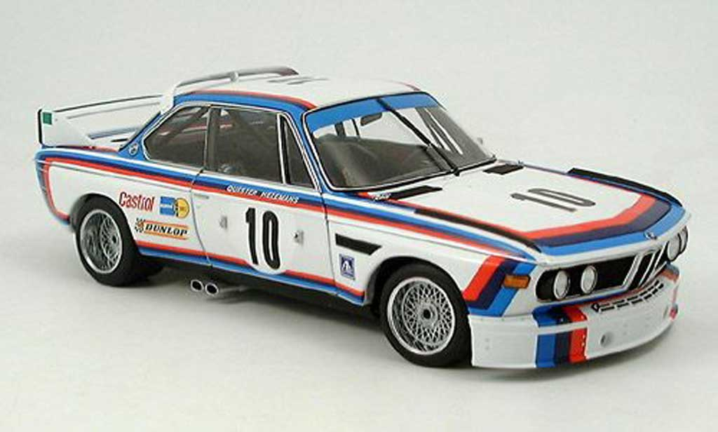 Bmw 3.0 CSL 1/18 Autoart quester sieger spa 1973 diecast model cars