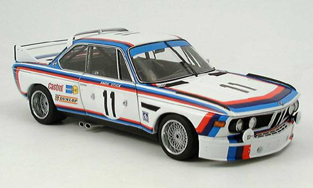 Bmw 3.0 CSL 1/18 Autoart amon stuck no.11 spa 1973 diecast model cars