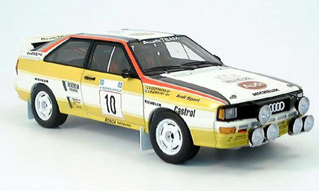 Audi Quattro Rallye 1/18 Autoart lwb blomquist acropolis 1984 miniature