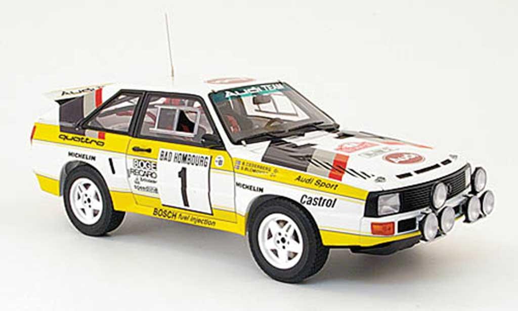 Audi Sport Quattro 1/18 Autoart no.1 rallye monte carlo 1985 miniature