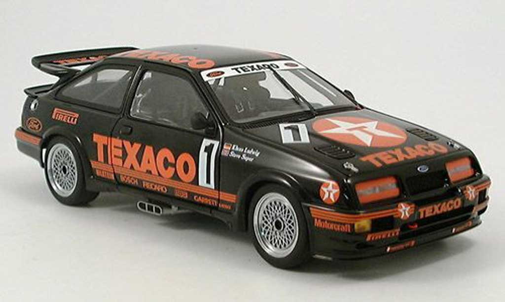Ford Sierra RS 500 1/18 Autoart ludwig/soper no. 1 1987 diecast model cars