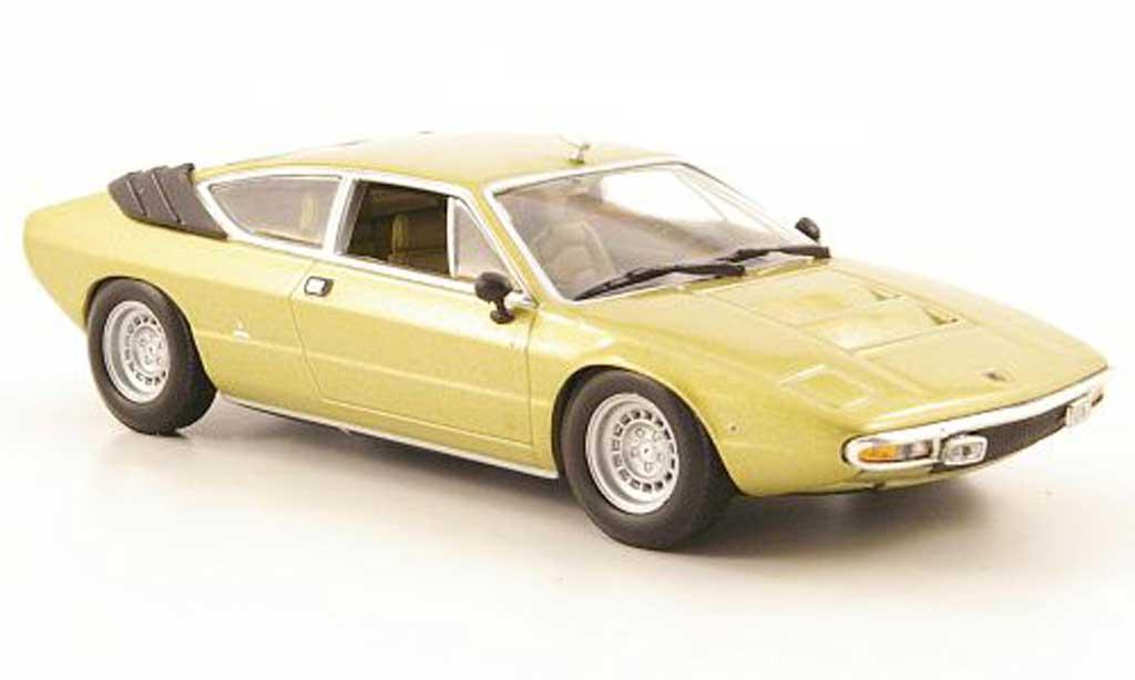 Lamborghini Urraco 1/43 Minichamps gold 1974 diecast