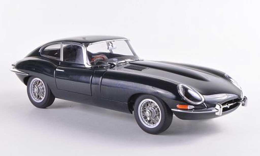 Jaguar E-Type 1961 1/18 Autoart 1961 Coupe Series I 3.8 grun miniature