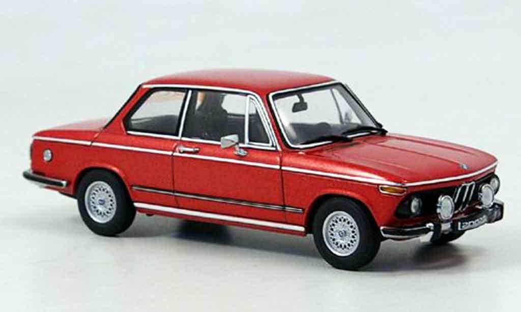 Bmw 2002 Tii 1/43 Autoart tii L rouge 1974 miniature