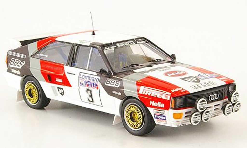 Audi Quattro 1/43 Trofeu Sieger RAC Blomquist-Cederberg 1983 miniature