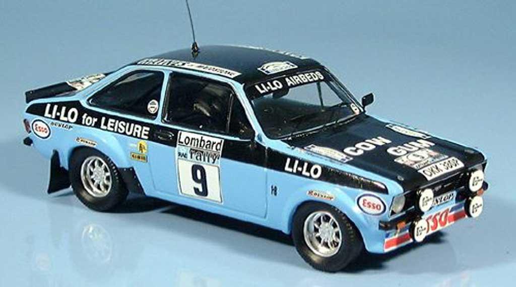 Ford Escort MK2 1/43 Trofeu RAC Rallye Clark-Wilson 1978 miniature