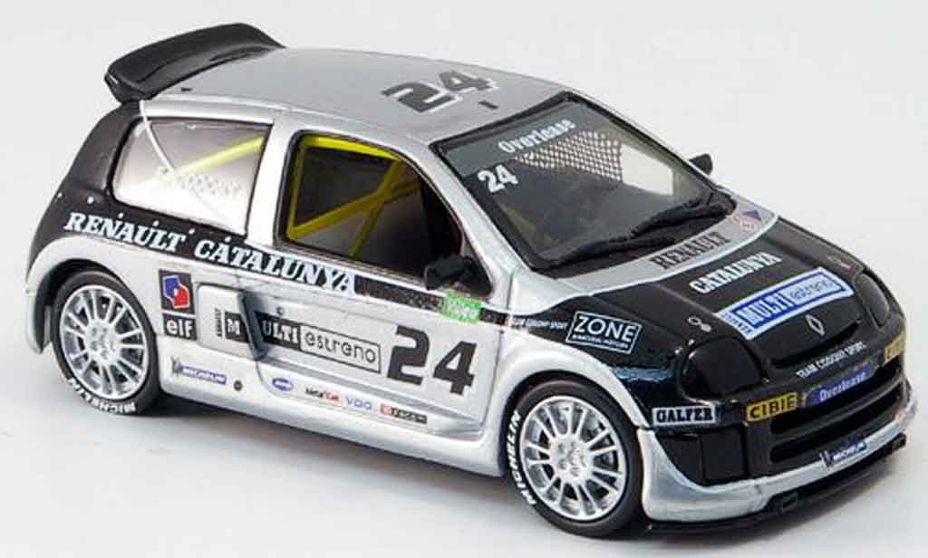 Renault Clio V6 1/43 Eagle sport no. 24 codony clio trophy 2000 modellautos