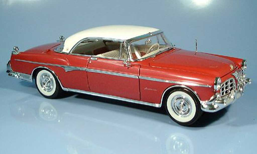 Chrysler Imperial 1/18 Signature rouge 1955 miniature
