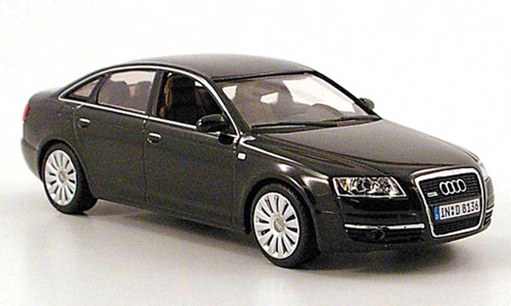 Audi A6 1/43 Minichamps (C6) noire 2004 miniature