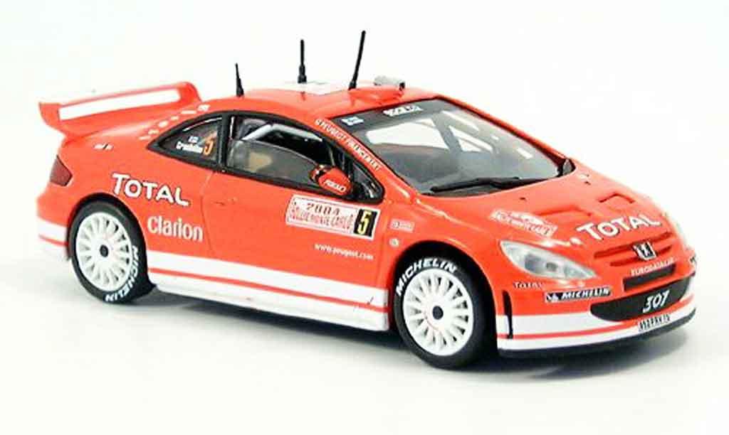 Peugeot 307 WRC 1/43 Solido 2004 diecast model cars