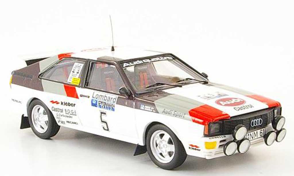 Audi Quattro 1/43 Trofeu Sieger RAC Mikkola-Hertz 1981