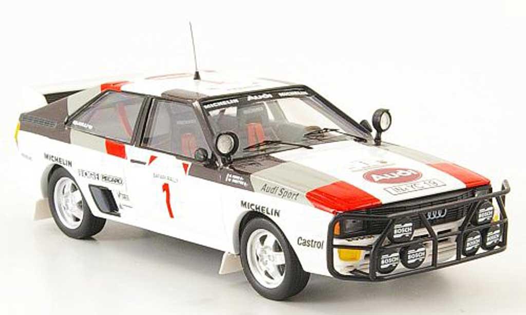 Audi Quattro 1/43 Trofeu Safari Rallye Mouton-Pons 1983 miniature