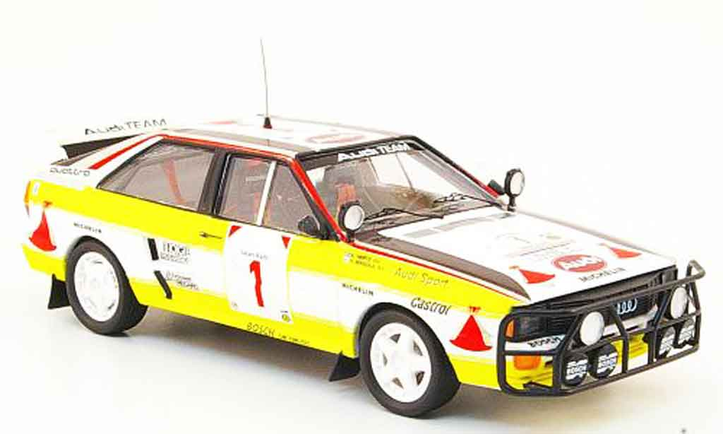 Audi Quattro 1/43 Trofeu No.1 HB Safari Rally 1984 miniature