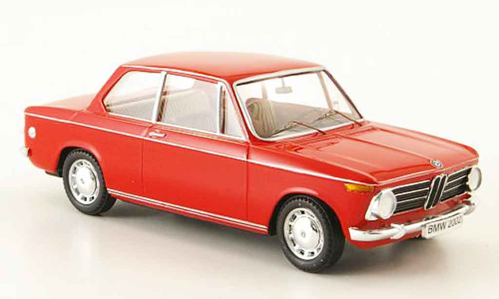 Bmw 2002 Tii 1/43 Trofeu rouge 1981 miniature