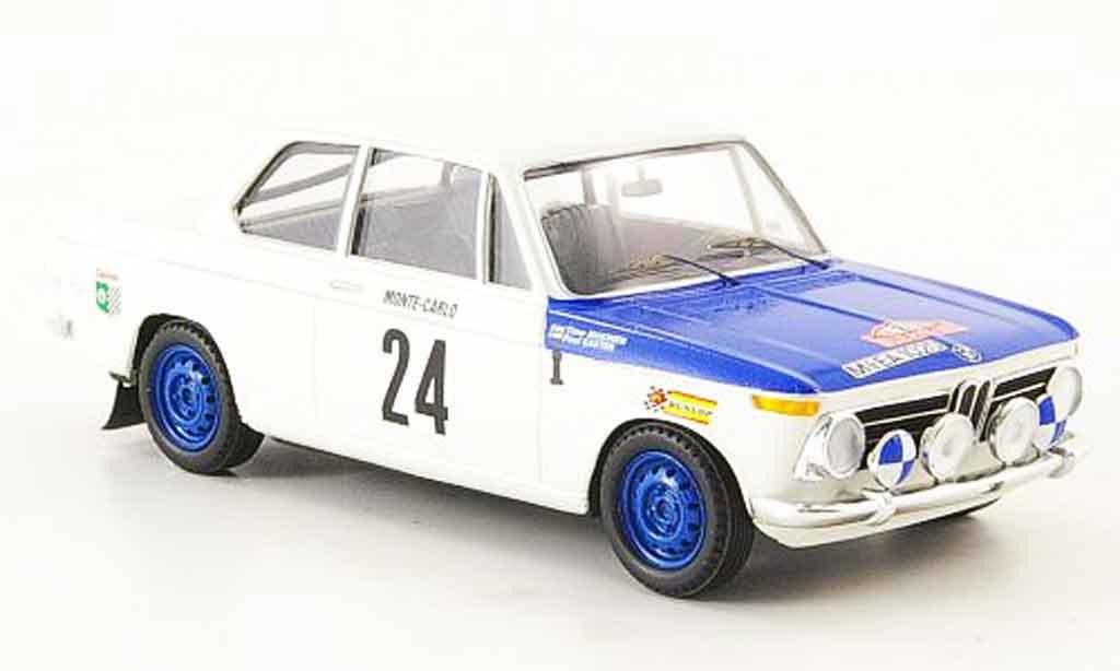 Bmw 2002 Ti 1/43 Trofeu Monte Carlo Makinen Easter 1969 miniature