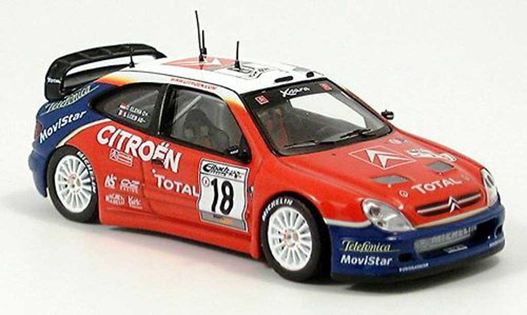 Citroen Xsara WRC 2003 1/43 IXO Loed-Elena Sieger Deutschland miniature