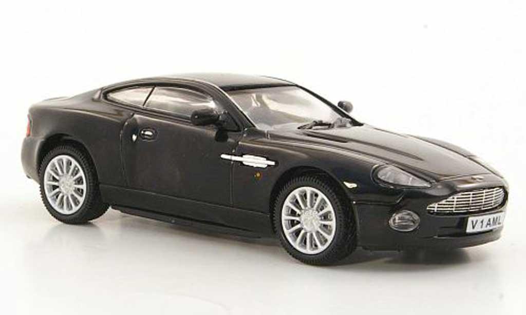 Aston Martin Vanquish 1/43 Vitesse noire RHD 2002 miniature