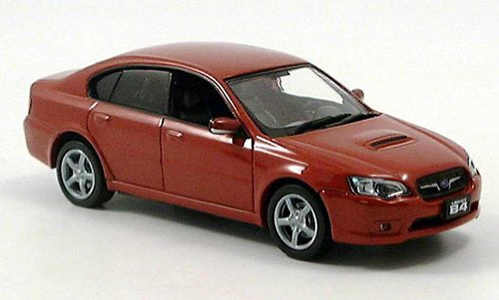 Subaru Legacy 3.5 GT 1/43 J Collection 3.5 GT rouge 2003 miniature